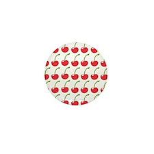Red Cherries Mini Button
