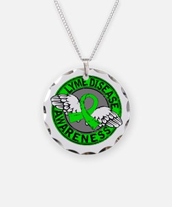 Lyme Disease Awareness 14 Necklace
