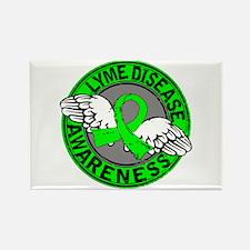 Lyme Disease Awareness 14 Rectangle Magnet