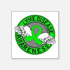 "Lyme Disease Awareness 14 Square Sticker 3"" x 3"""