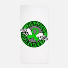 Lyme Disease Awareness 14 Beach Towel