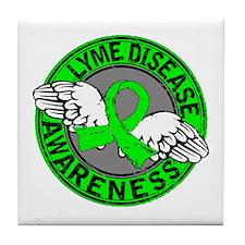 Lyme Disease Awareness 14 Tile Coaster