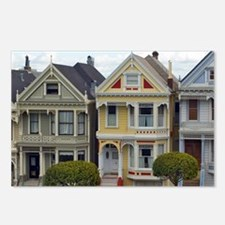 Alamo Square House Fronts Postcards (Package of 8)