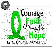 Lyme Disease CourageFaith1 Puzzle