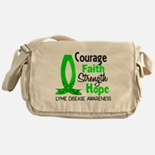 Lyme Disease CourageFaith1 Messenger Bag