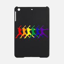 Fastpitch Pitcher Rainbow Bevel iPad Mini Case