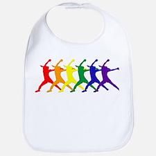 Fastpitch Pitcher Rainbow Bevel Bib