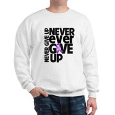 Sarcoidosis Never Give Up Sweatshirt