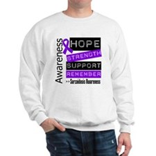 Hope Strength Sarcoidosis Sweatshirt