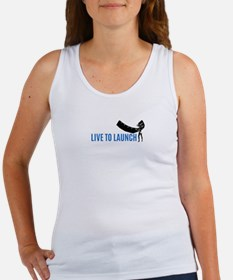 Live To Launch Tank Top