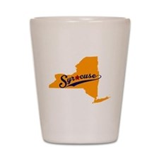 Syracuse, NY Shot Glass