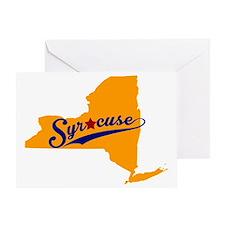 Syracuse, NY Greeting Card
