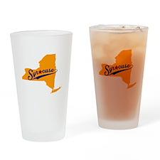 Syracuse, NY Drinking Glass