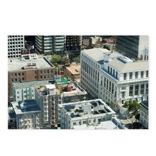 san francisco rooftops Postcards (Package of 8)