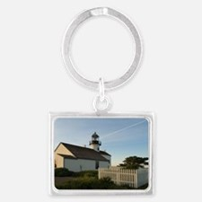 point loma lighthouse Landscape Keychain
