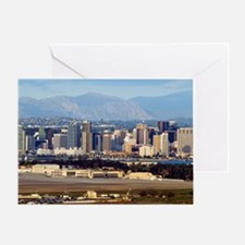 san diego downtown Greeting Card