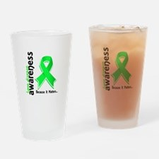 Lyme Disease Awareness 5 Drinking Glass