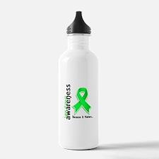 Lyme Disease Awareness Water Bottle