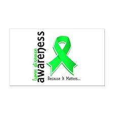 Lyme Disease Awareness 5 Rectangle Car Magnet