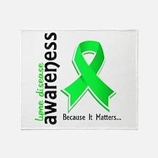 Lyme Disease Awareness 5 Throw Blanket
