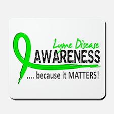 Lyme Disease Awareness 2 Mousepad