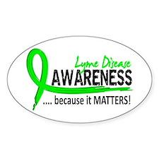 Lyme Disease Awareness 2 Decal