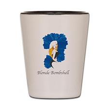 Blonde Bombshell Shot Glass