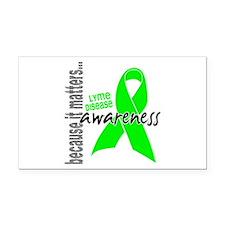 Lyme Disease Awareness 1 Rectangle Car Magnet