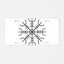 Helm of Awe (Ægishjálmur) Aluminum License Plate