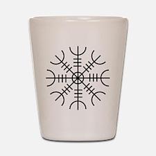 Helm of Awe (Ægishjálmur) Shot Glass