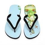 Happy Frog Stack Flip Flops