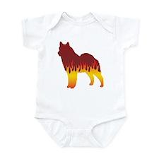 Lapphund Flames Infant Bodysuit