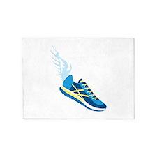 Running Shoe Wing 5'x7'Area Rug