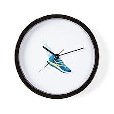 Running Shoe Wing Wall Clock