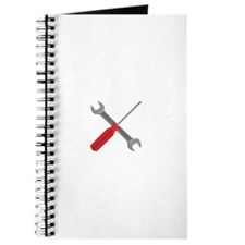 Wrench Screwdriver Tools Journal