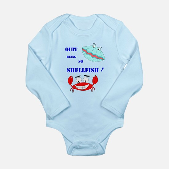 Quit being so shellfish! Body Suit