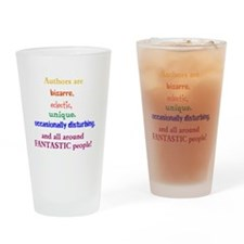 Authors Are Drinking Glass
