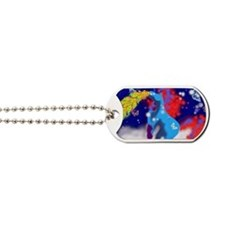 un1corn vomit Dog Tags