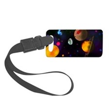 space scene Luggage Tag