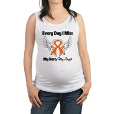 Multiple Sclerosis Wings Maternity Tank Top