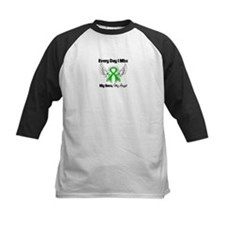 Kidney Disease Wings Baseball Jersey