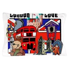 London Love Pillow Case