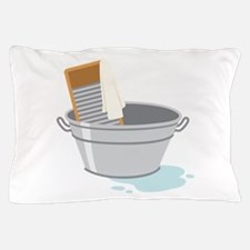 Laundry Tub Washboard Pillow Case