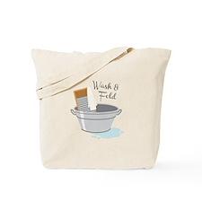 Wash Fold Tote Bag