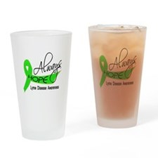 Lyme Disease Always Hope Drinking Glass