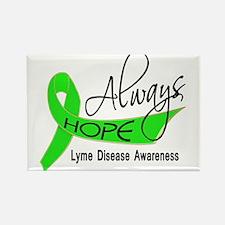 Lyme Disease Always Hope Rectangle Magnet