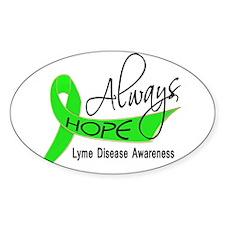 Lyme Disease Always Hope Decal