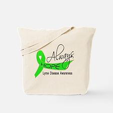 Lyme Disease Always Hope Tote Bag