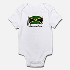 Jamaican Flag Infant Bodysuit