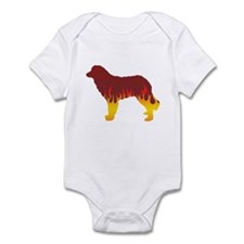 Estrela Flames Infant Bodysuit